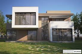 Modern concrete home plans
