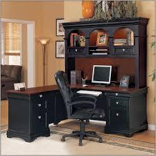 Black Desks With Hutch Innovative Computer Desk With Hutch Black Black Corner Computer In