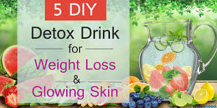 5 Natural Diy Recipes For by 5 Delicious Detox Water Recipes For Weight Loss And Glowing Skin