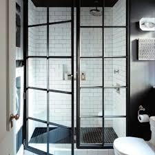 Black Shower Door Stylish Ideas Black Shower Door Clever Gridscape Series Coastal