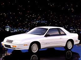 chrysler car white here are all the ways chrysler tried to turbocharge the 1980s