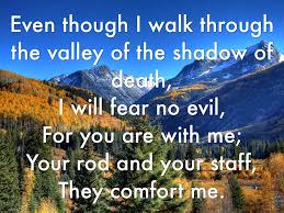 Your Rod And Your Staff Comfort Me Shelter God Is Here By Raymond Yip
