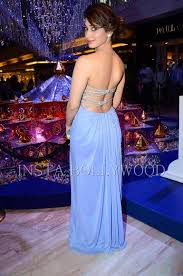 Ravishingly by Tamanna Bhatia Attends Swarovski Event In Blue Gown Hd