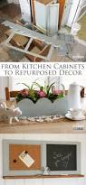 Kitchen Home Decor Repurposed Kitchen Cabinets Into Home Decor Prodigal Pieces