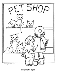 mary engelbreit coloring pages pet shop cats page to color 032 coloring pages pinterest pet