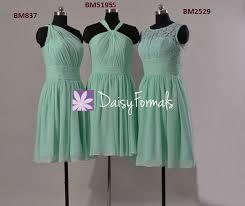 mint lace bridesmaid dresses mint one shoulder bridal dress mint vintage lace