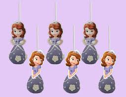 sofia the first cake pop toppers cupcake toppers cupcake