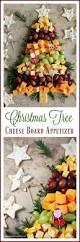 easy holiday appetizer christmas tree cheese board
