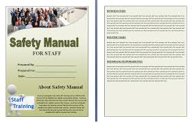 professional manual template template examples