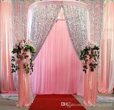wedding backdrop lights for sale glitter bling 9mm sequins fabric for wedding table cloth