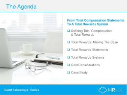 Total Compensation Statement Template by From Total Compensation To Total Rewards