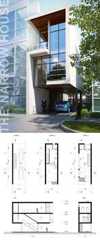 narrow house floor plans 202 best architecture plan images on architecture