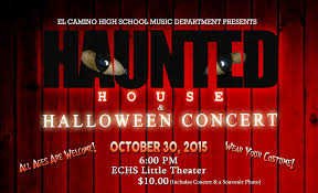 el camino high music department to host haunted house