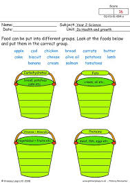primaryleap co uk food groups 1 worksheet
