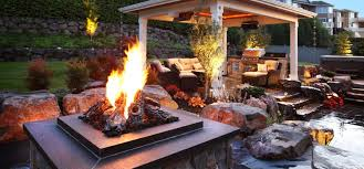 fire pit design and installation spokane seattle bellevue