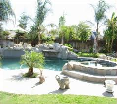 Desert Landscape Ideas For Backyards Desert Backyard Pool Landscaping Ideas Home Design Ideas