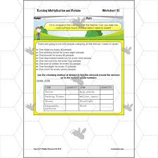 revising multiplication u0026 division division worksheets ks2