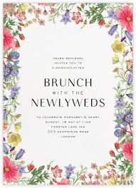 post wedding brunch invitations wedding brunch invitations online at paperless post