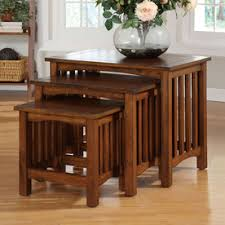Oak Accent Table Shop Accent Table Sets At Lowes Com