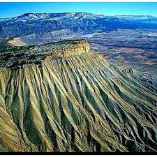 Colorado book travel images Book cliff mountains grand junction colorado where in the jpg