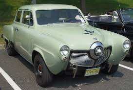 1950 studebaker commander designed by raymond lowey as was the