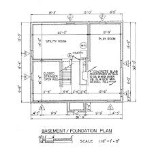 ordinary house foundation plan 8 foundation of a house plan