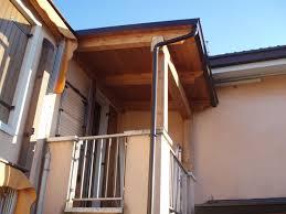 tettoie per terrazze pensiline e tettoie in legno civer coperture edili