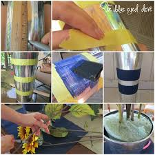 How To Make Floral Arrangements Step By Step Diy Floral Sunflower Arrangement View From The Fridgeview From