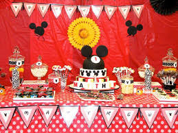 mickey mouse decorations 37 adorable mickey mouse birthday party ideas table decorating ideas