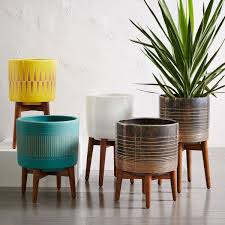 plant stand ceramic plant standsor 2modern case study planter