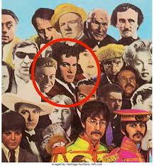 sargeant peppers album cover tony curtis cut out from sgt pepper s album cover up at auction