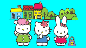 hello kitty coloring pages for kids hello kitty coloring book