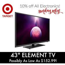 element tv at target black friday target electronics coupon code 43