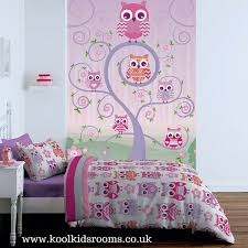 Owl Curtains For Nursery Owls Wallpaper Mural By Catherine Lansfield Co Ordinates With