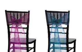 Chair Sash Rental 8 X 110 Sheer Radiance Chair Sashes Wedding Linen Rental