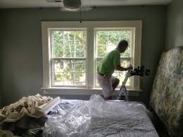 before and after sylvan guest room window treatments phase 1