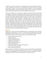 home depot marketing plan home depot integrated marketing caign plan for imc 610