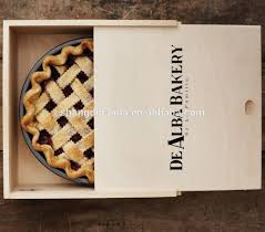 where to buy pie boxes nutural customized food grade wooden pie box wholesales buy