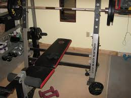 bench golds gym weight bench set golds gym bench and weights
