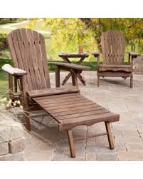 Adirondack Coffee Table - fall into this deal on coral coast big daddy reclining adirondack