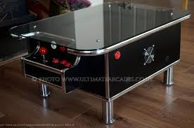coffee table game console black retro coffee table 60 classic arcade games with built in