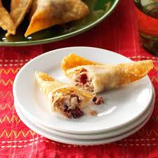 5 Ingredient Fix Thanksgiving Thanksgiving Wontons Recipe Taste Of Home