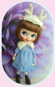 fawn headband blythe doll fawn headband and fur collar no doll ebay
