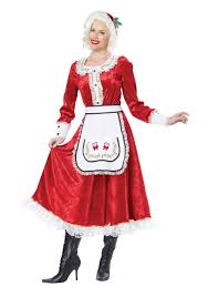 mrs claus costumes classic mrs claus costume