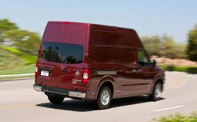 old nissan van full size vans by the numbers truck trend