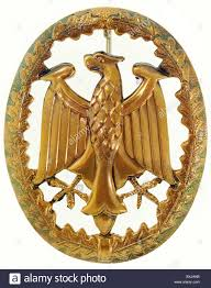 decorations germany german armed forces badge for stock