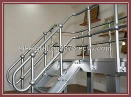 Steel Banister Rails Carbon Steel Pipe Stair Handrail Purchasing Souring Agent Ecvv