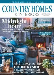 country homes and interiors country homes interiors january 2018 free pdf magazine