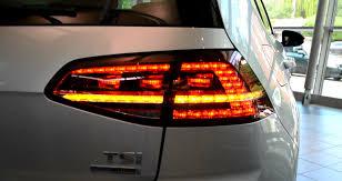 vw led tail lights 2014 original vw golf facelift led rear light tail lights