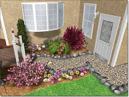adding a rock border